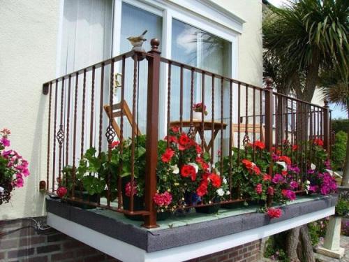 Балконы открытые фото дизайн