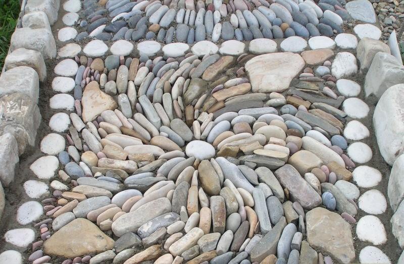 Дорожка из камне своими руками