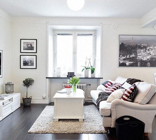 интерьер черно белой гостиной фото идеи строительный портал