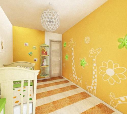Как увеличить комнату при помощи обоев, Строительный портал