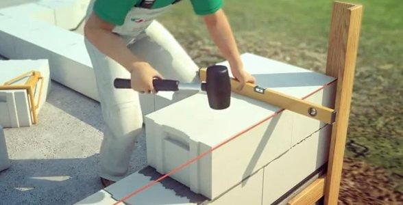 Как сделать Кладка блоков своими руками фото