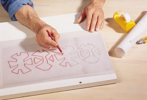 Трафареты с орнаментом своими руками