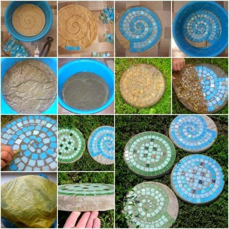 Садовая дорожка из керамической плитки своими руками