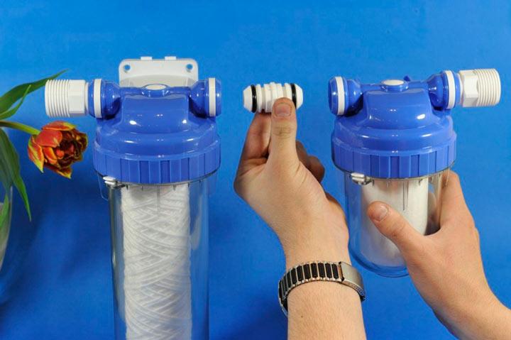 Фильтр гейзер ремонт своими руками