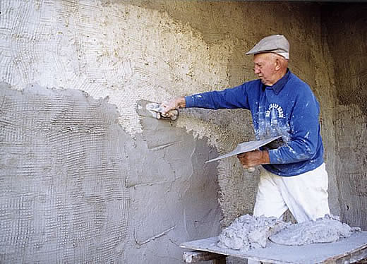 Штукатурка цементная стен 146