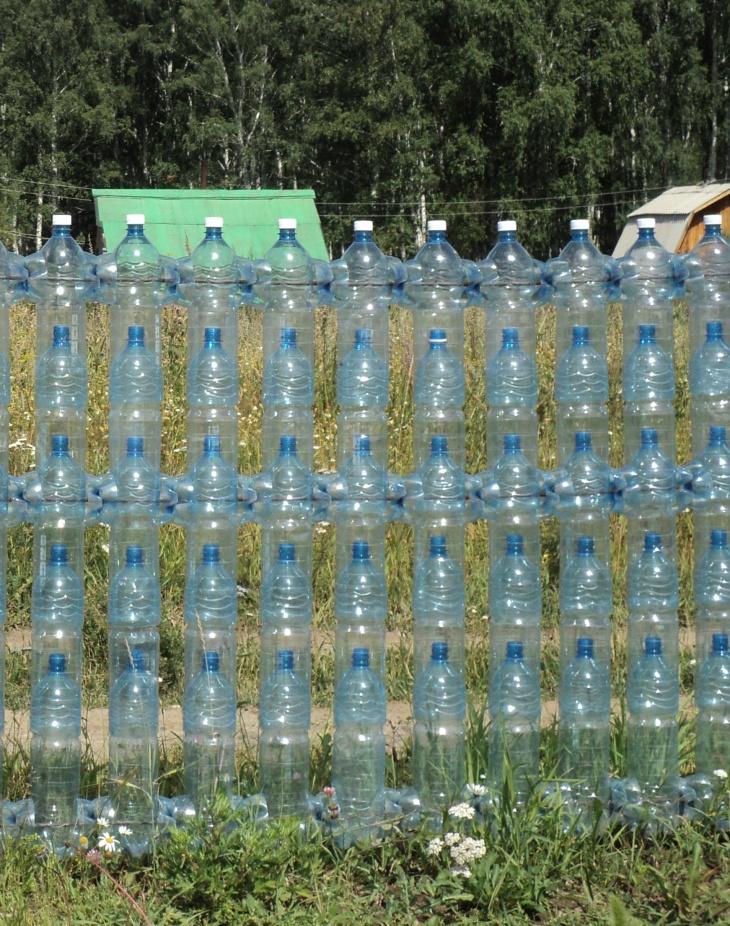 Из пластиковых бутылок своими руками для дома