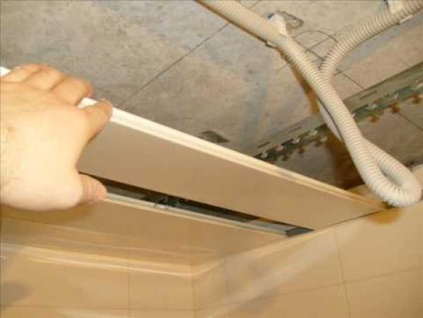 Реечный потолок Албес - монтаж, особенности Строительный портал