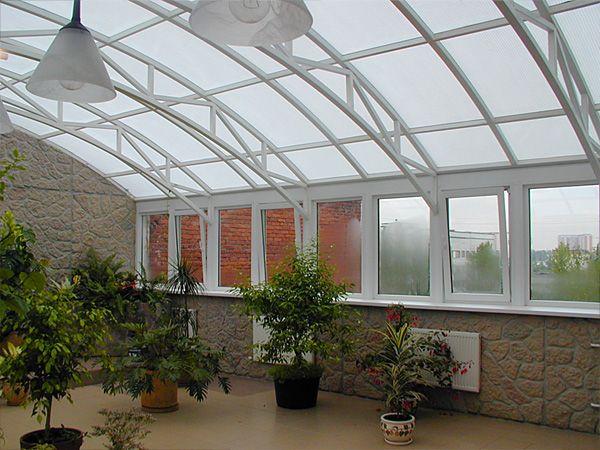 Как сделать зимний сад на крыше дома