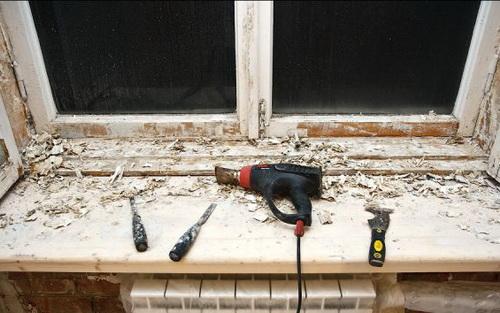 Как отремонтировать окно деревянное своими руками