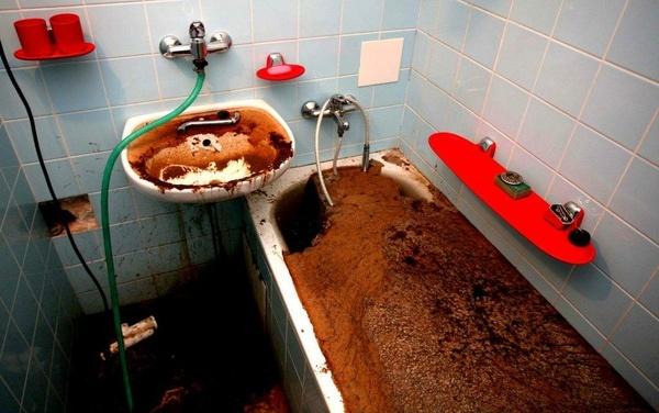Сколько стоит прочистить засор на кухне