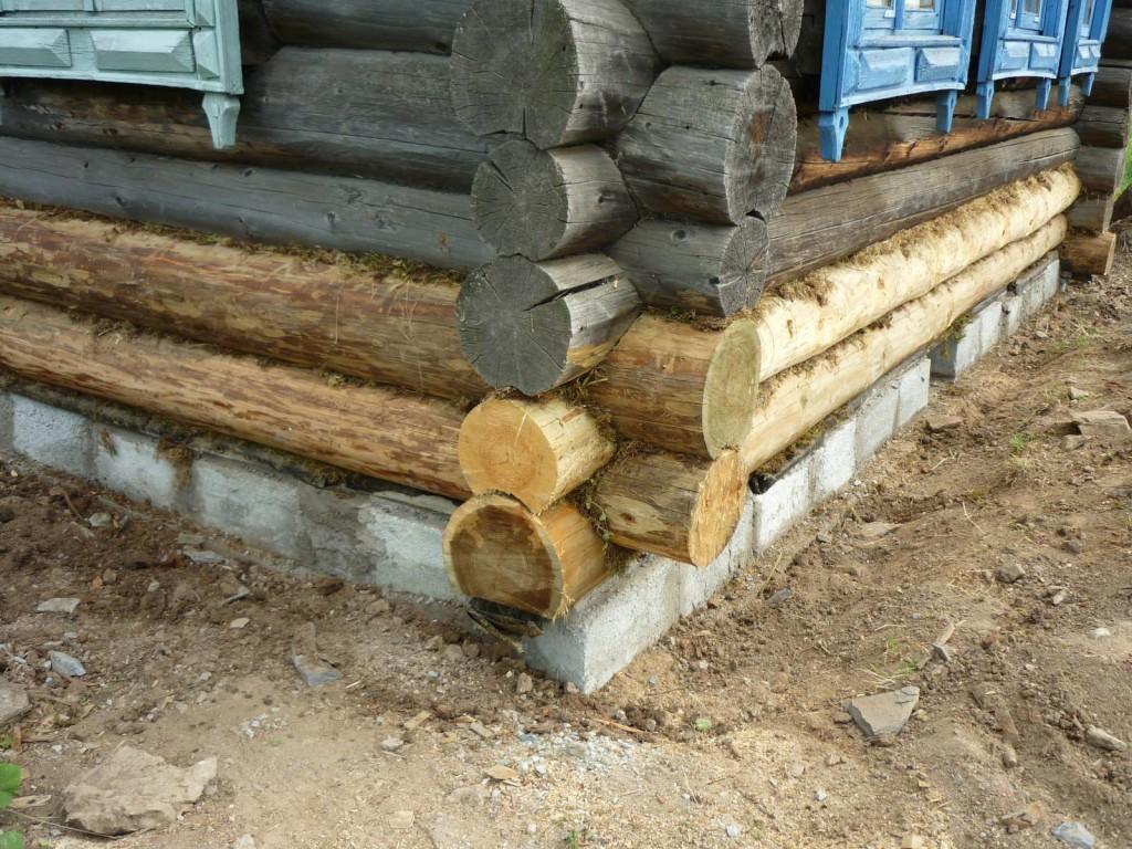 Как заменить нижний венец в деревянном доме своими руками - Авто Шарм