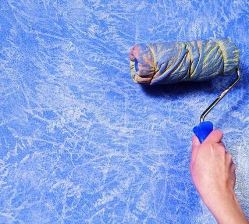 1 1219 - Как наносить структурную краску