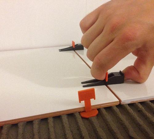 Системы выравнивания плитки своими руками