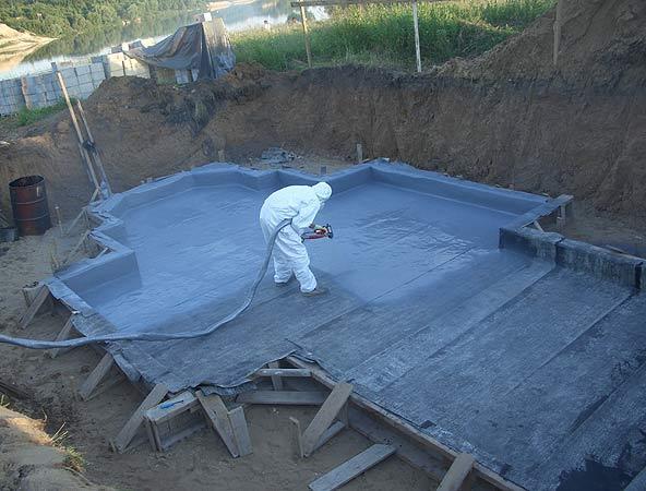 Гидроизоляция бассейнов - материалы и качество изготовления