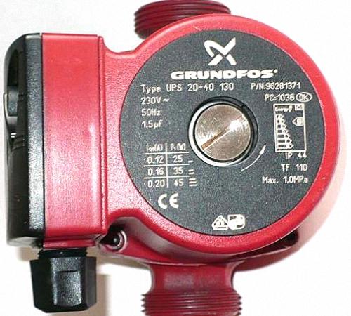 инструкция циркуляционный насос grundfos ups 25-40