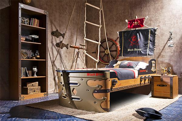 Пиратская комната своими руками