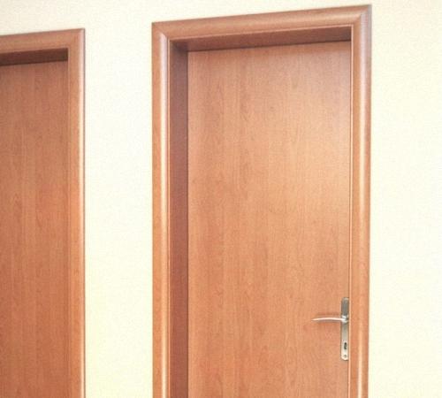 Дверь ламинированная натуральным деревом