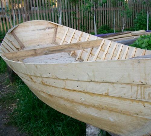 Своими руками лодка из досок