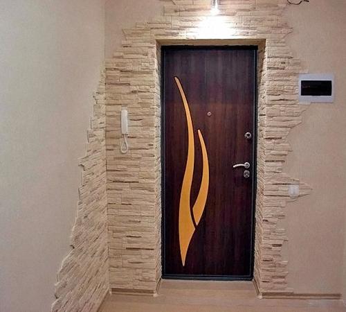 Как сделать портал для дверей 601