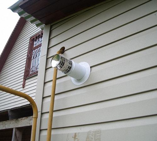 Угарный газ в доме при коаксиальном дымоходе проход трубы сэндвич дымохода через кровлю