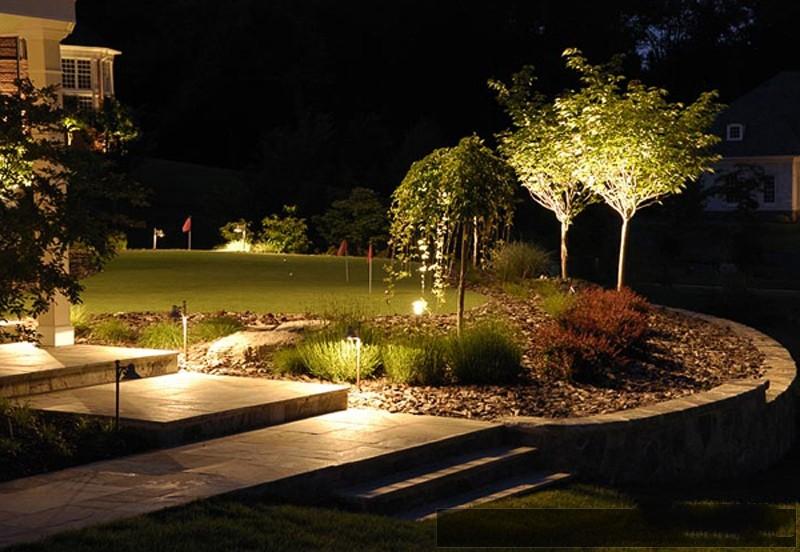 Подсветка для сада своими руками 2