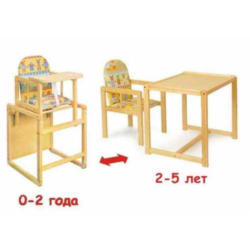 Стульчик и стол детский своими руками