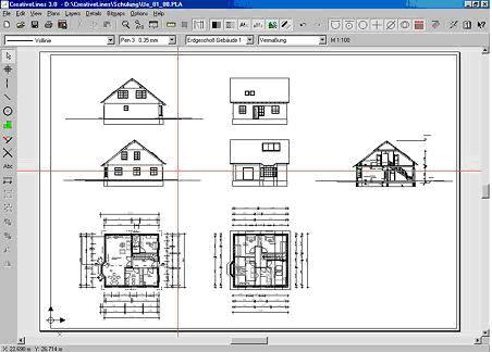 программа для создания проектов дома