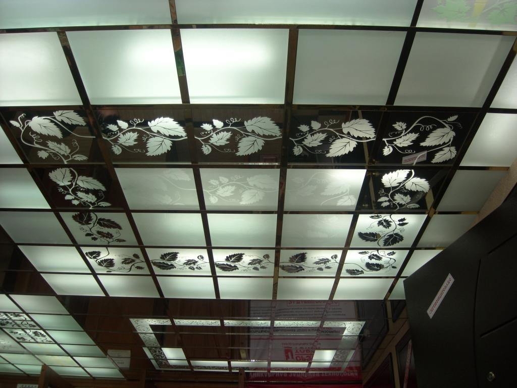 Навесной потолок с подсветкой своими руками
