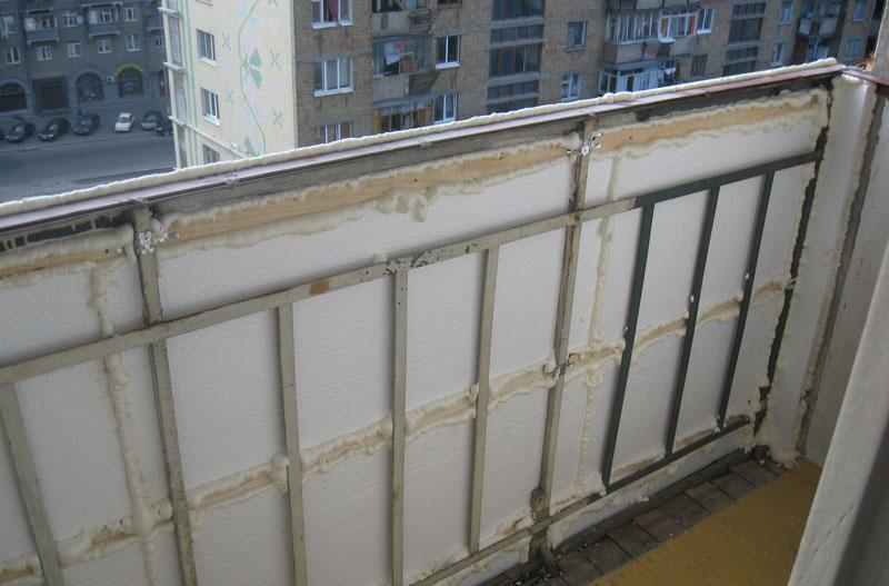Балкон своими руками каркас