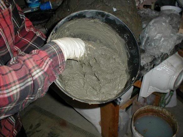 Цемент с целлюлозой своими руками 65