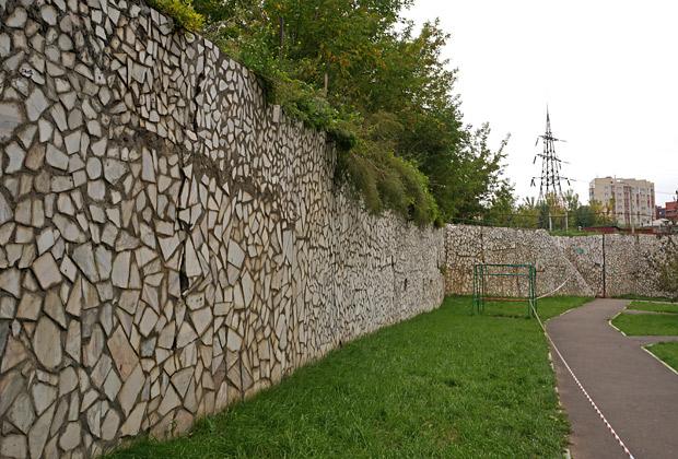 Подпорная стенка для холма высотой 5 метров