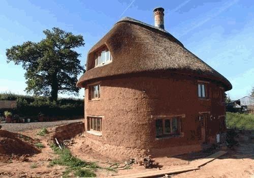 Саманный дом своими руками фото