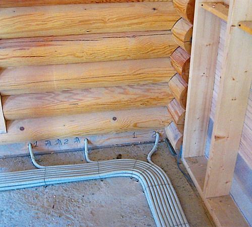 Монтаж наружной электропроводки в деревянном доме своими руками 71