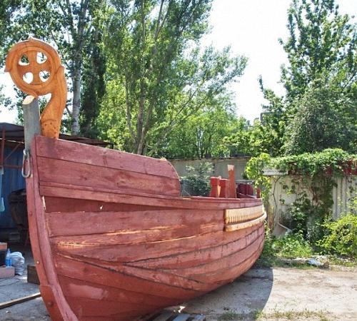 плоскодонная лодка на руси 5