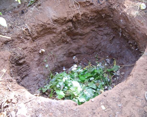 Устройство компостной ямы