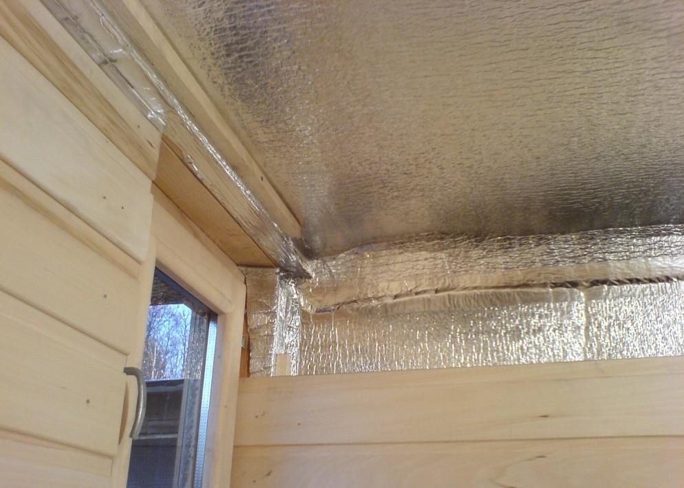 Как сделать теплоизоляцию на потолок