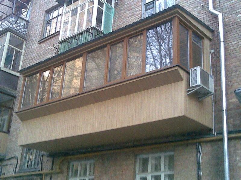 Застеклить балкон своими руками фото