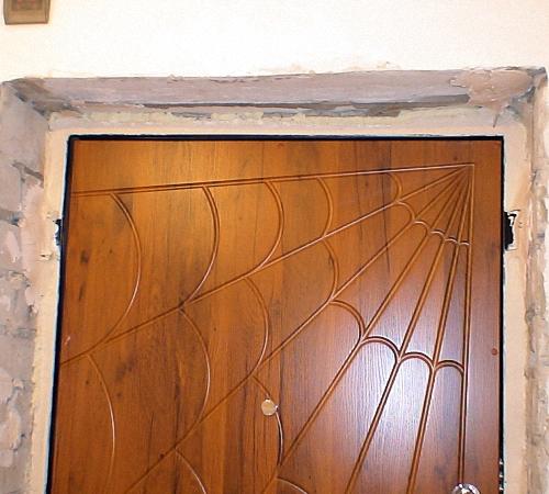 Откос входной двери своими руками