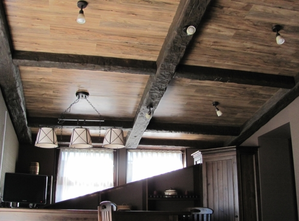 Декоративная отделка потолка Строительный портал