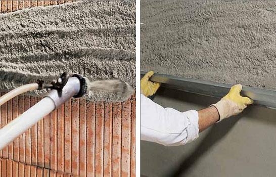 Цементно песчаная штукатурка своими руками