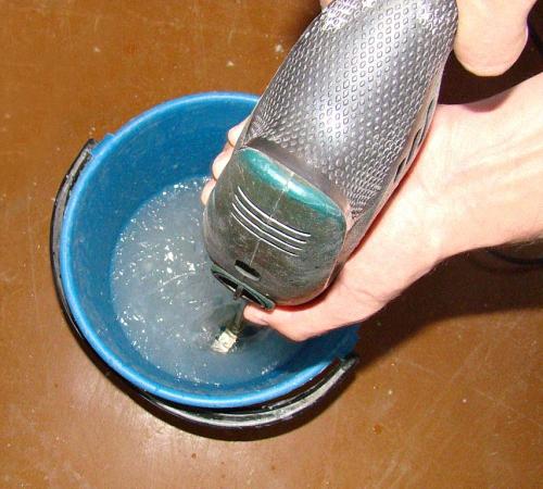 Как правильно приготовить клей