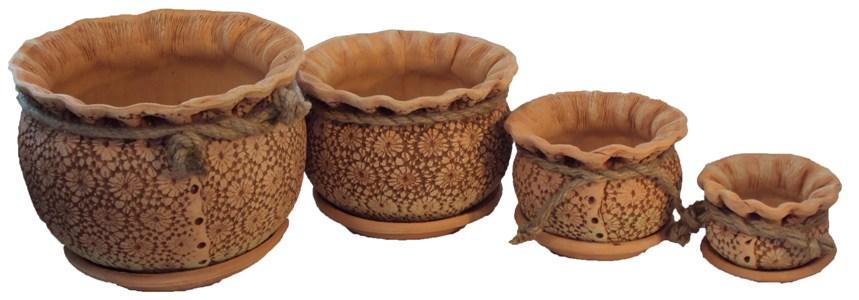 Глиняной горшок своими руками