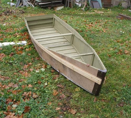 Лодка из досок чертежи