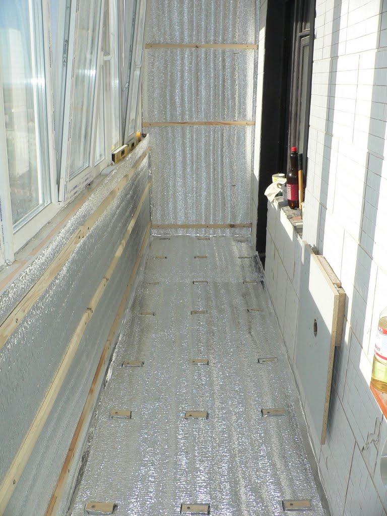 Утепление парапета балкона изнутри своими руками 45