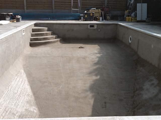 Стоимость бассейна из бетона