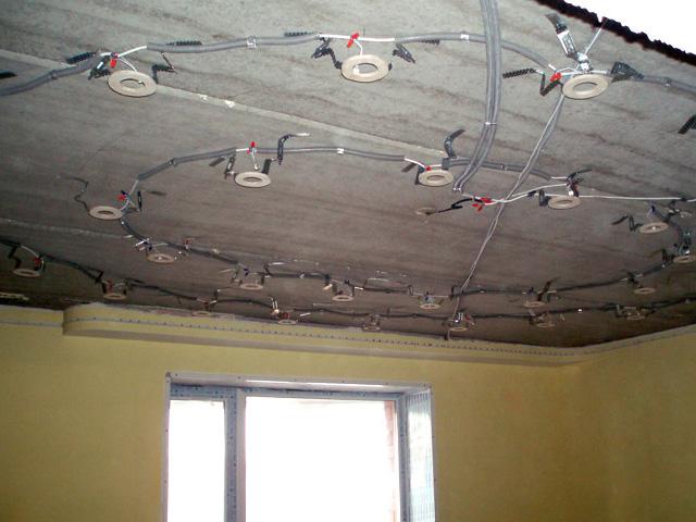 Двухуровневые потолки из гипсокартона с подсветкой своими руками фото 3