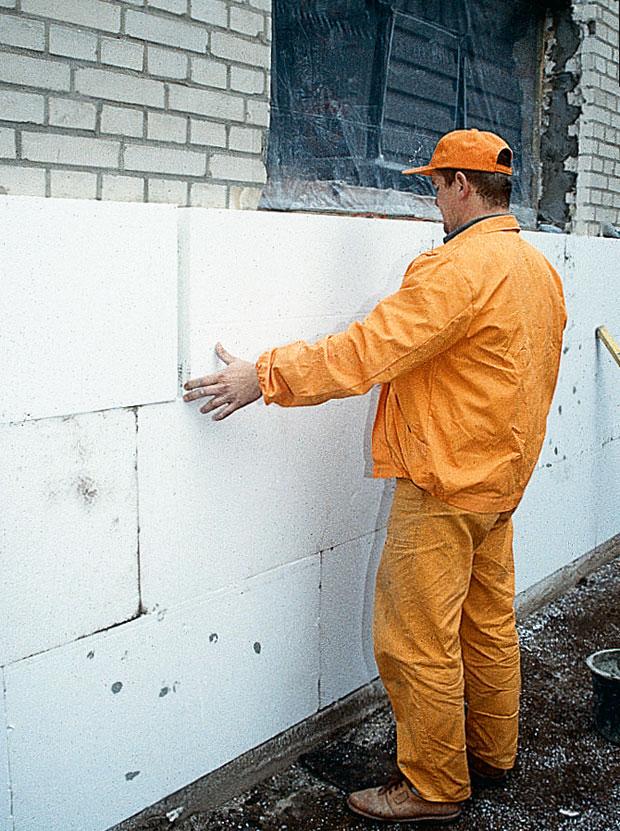 Утепление стен пенопластом своими руками пена 37