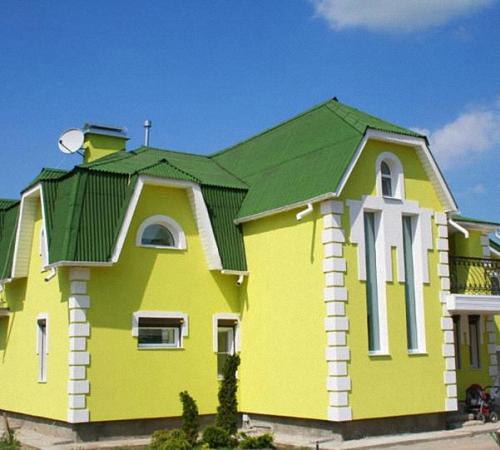 Фасад и наружная отделка дома