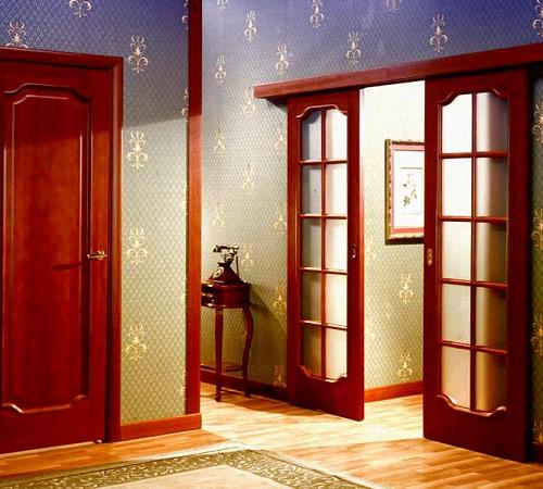 Покраска старых дверей своими руками