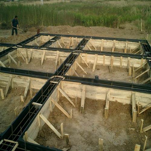 Как сделать опалубку для фундамента, Строительный портал